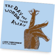 The Day the Words Went Away album cover